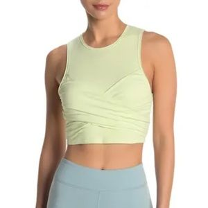 Free People Just My Type Cropped Racerback Tank